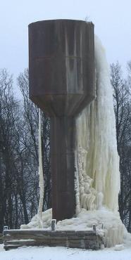 Водонапорная башня принцип действия
